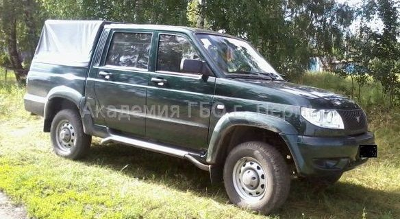 UAZ Patriot Pickup 2.7 128 Hp
