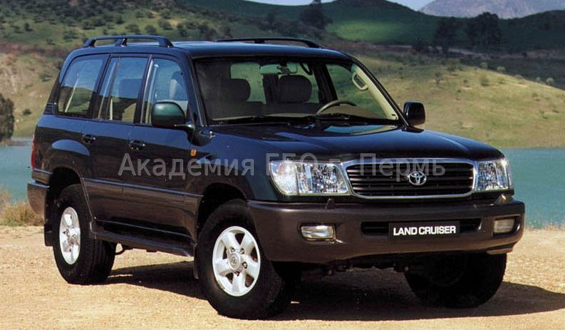 Toyota Land Cruiser 100 4.7 235 Hp V8